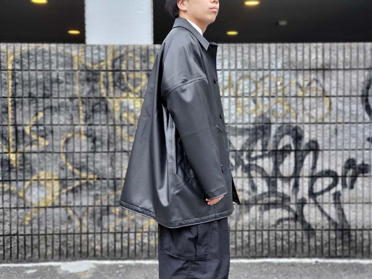 【02DERIV - AQUA DIMA TURTLE SHELL COAT】  No : 806036B  #mspc #msterpiece #マスターピース #japan #osaka #大阪 #日本製 #madeinjapan #japanmade #newarrivals #2020ss #new #apparel #防水 #waterproofpic.twitter.com/qYbdQ6zyJR