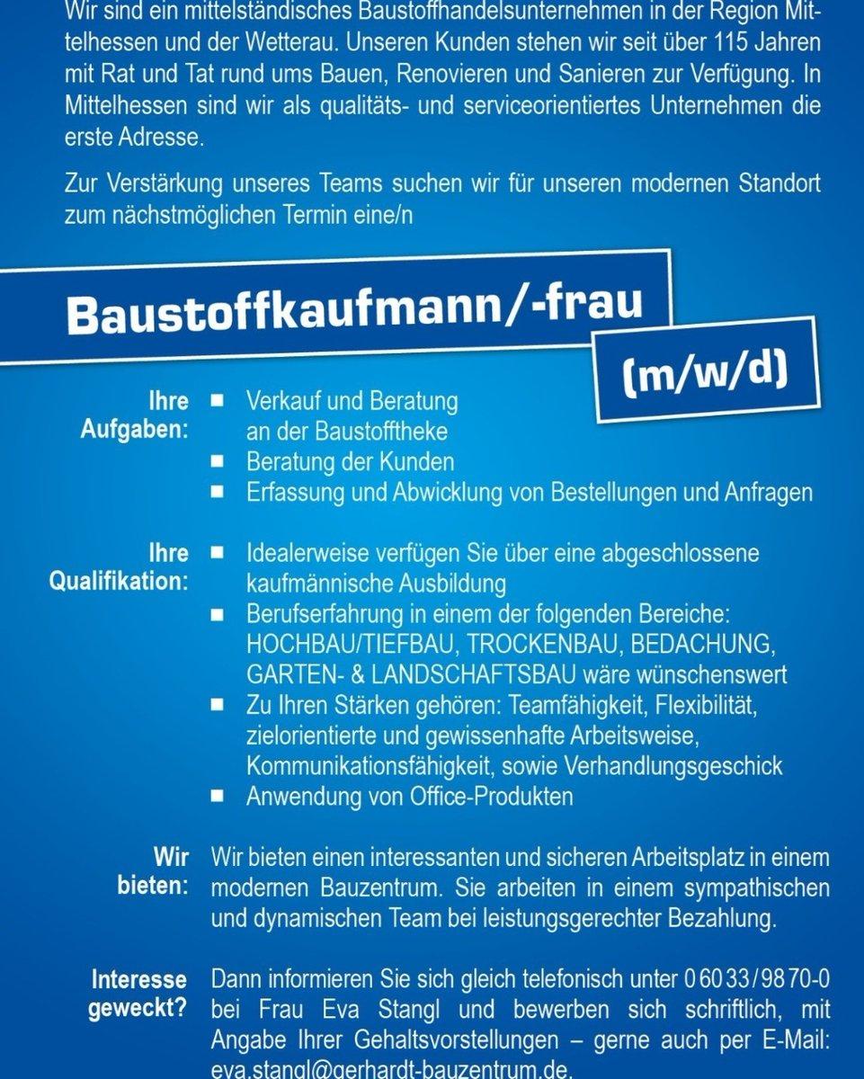 gerhardt baustoffe butzbach