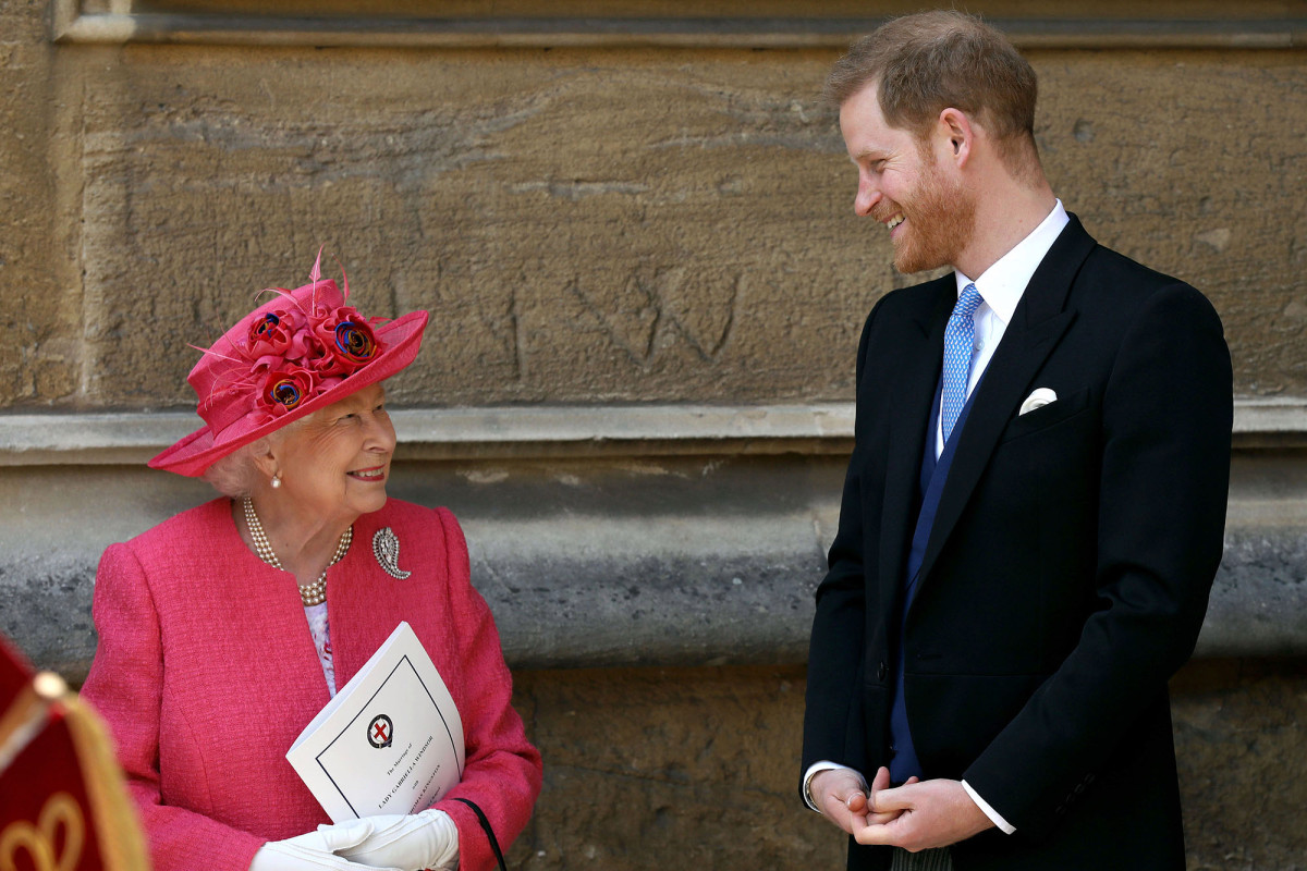 """Image result for The Queen Reportedly Tells Prince Harry He'll Always Be """"Welcome Back"""""""