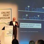 Image for the Tweet beginning: Rainer Hundsdörfer, CEO @Heideldruck lüftet