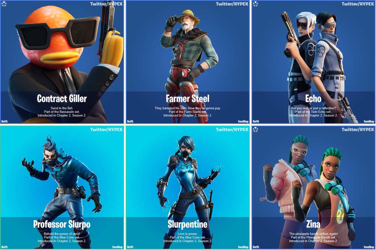 shiinabr fortnite leaks on twitter new skins new slurp rarity via hypex skins new slurp rarity via hypex