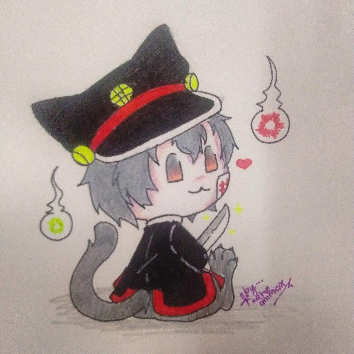 Just drawing...  ... #hanakokun...  ... #toiletboundhanakokun #anime #animedraw #animedrawing #animedoodle #animefanart #animechibi #draw #drawing #doodle #fanart #chibi...pic.twitter.com/PXO2Cy9xmx