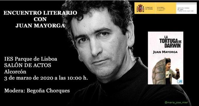 Encuentro literario con Juan Mayorga