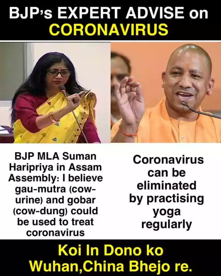 Pratik Sinha On Twitter Please Be Careful About Misinformation Around Coronavirus Don T Let Religious Gurus And Certain Politicians Misguide You With Pseudoscience Traditional Indian Medicine Doesn T Have Any Proven Cure Do Your