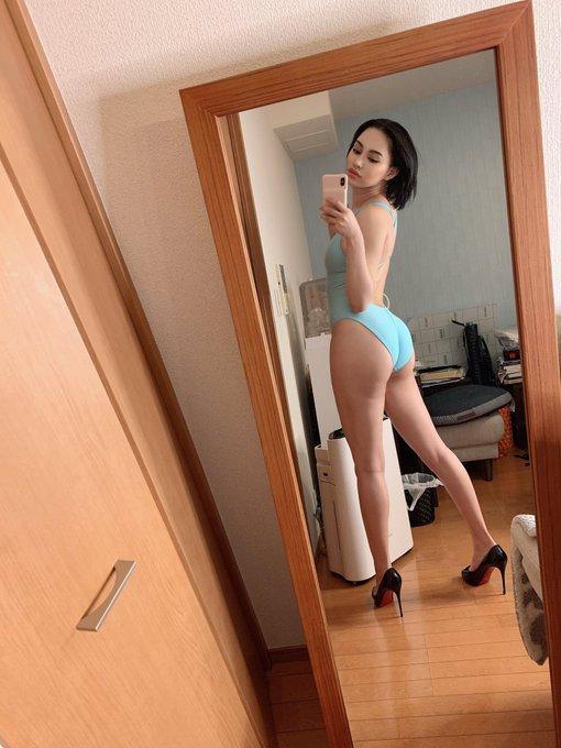 グラビアアイドル水木ケイトのTwitter自撮りエロ画像53