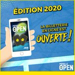 Image for the Tweet beginning: La billetterie pour l'édition 2020