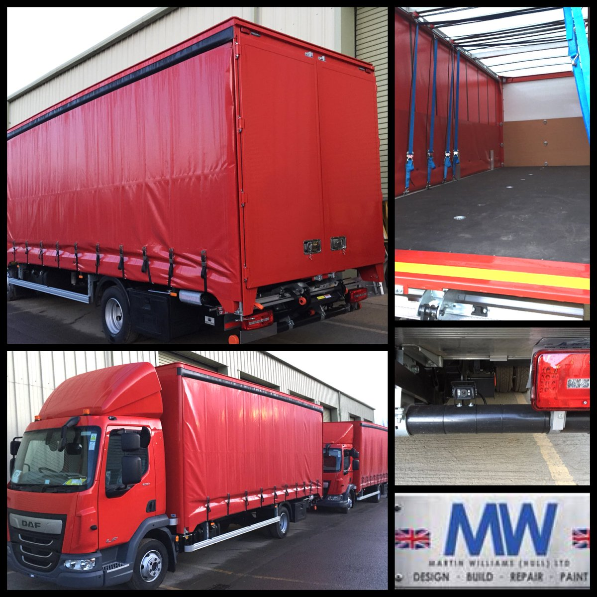 test Twitter Media - 7.5t DAF LF180 Curtain side with Dhollandia 1t Tuck Away Tail Lifts, Bungee load restraint strap system, Axtec onboard vehicle weighing systems, Smuk 4 camera recording system with left turn warning and white noise reverse alarm.   With thanks to @WolseleyUK  and @LancashireDaf https://t.co/J8zE5RI9tj