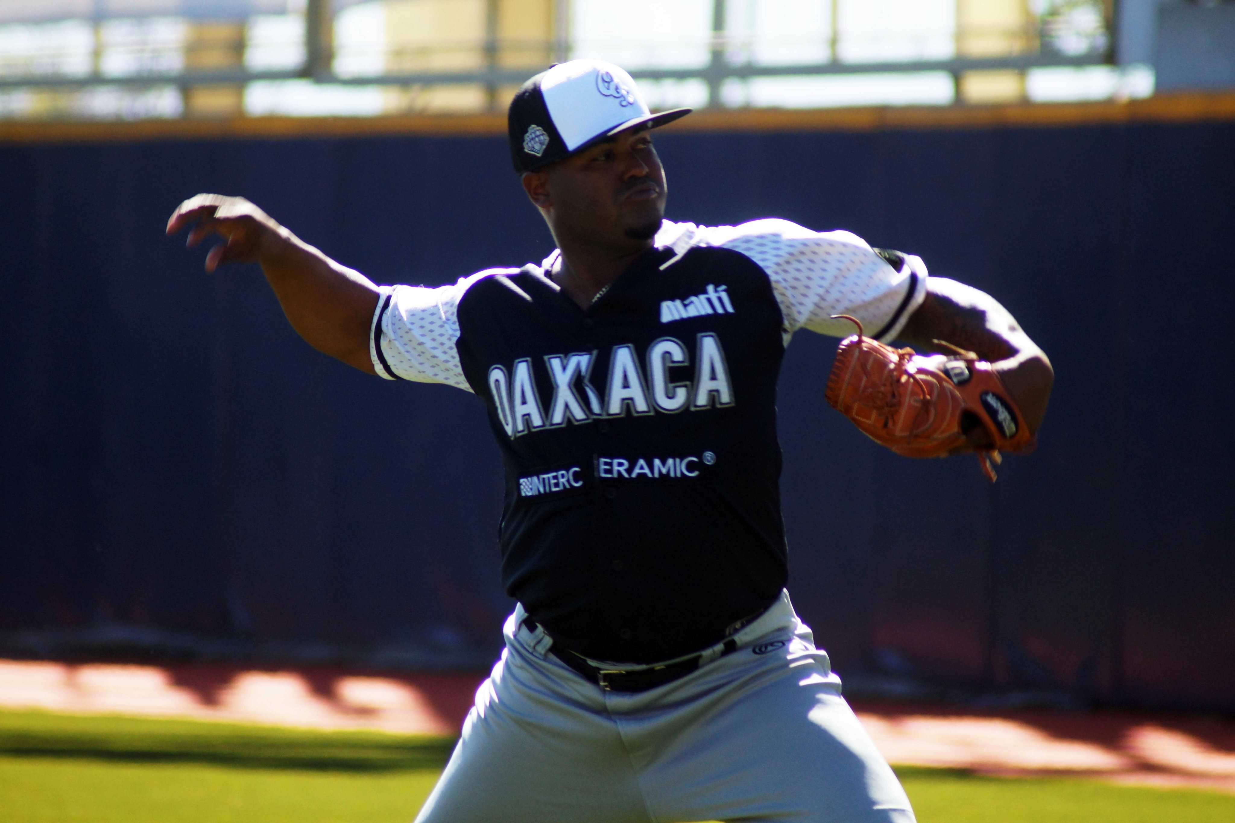 Luis Santos, refuerzo de los Guerreros de Oaxaca para la temporada 2020 de la Liga Mexicana de Beisbol (LMB)