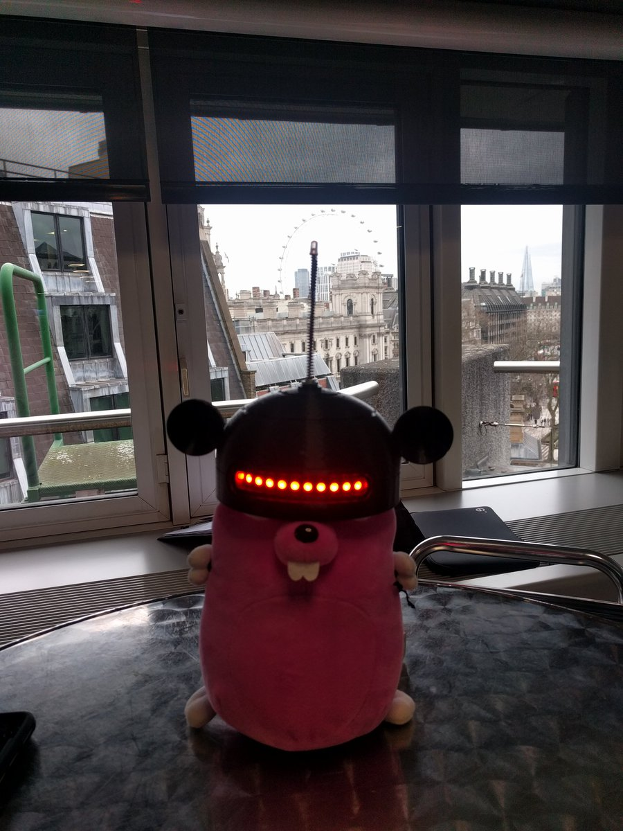 'A Programmable Gopher in London' #QConLondon #tinygo #golang