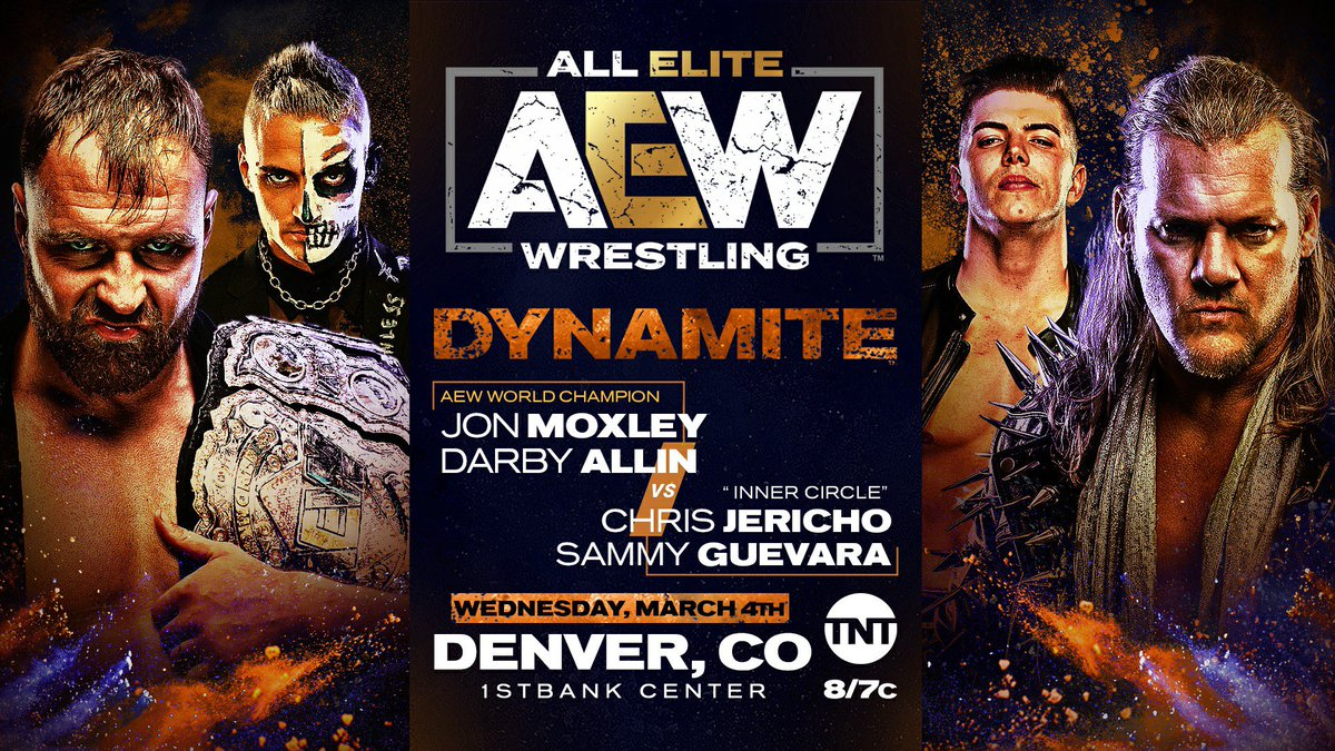 Tag Team Match Announced For AEW Dynamite From Denver