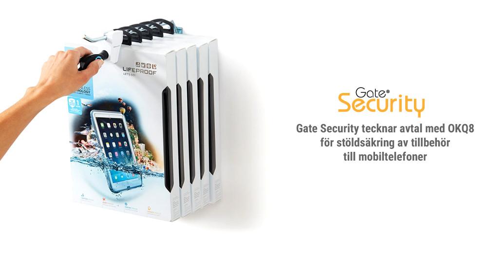 Gate Security tecknar avtal med OKQ8 för stöldsäkring av tillbehör till mobiltelefoner https://t.co/yUF5I5QDyq https://t.co/VMclIzDZcD