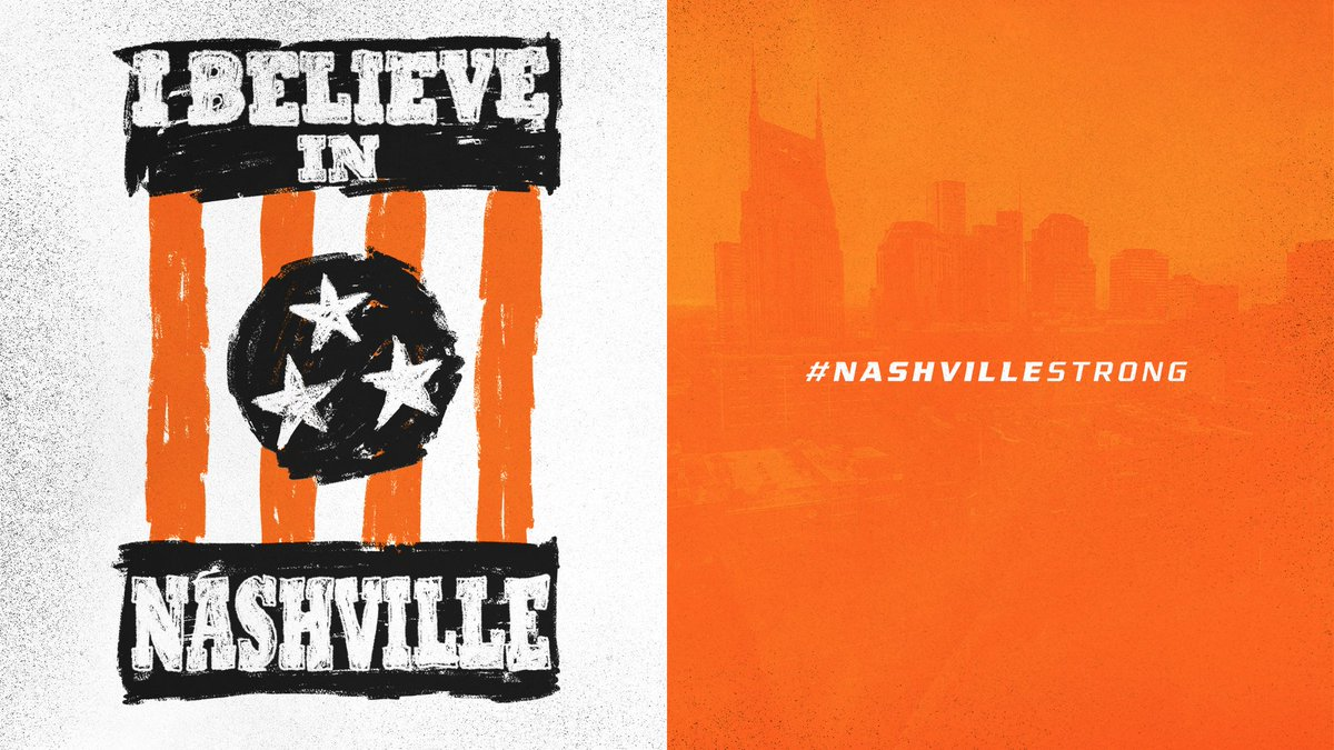 We are hurting for our brothers and sisters in Middle Tennessee.  Sending our thoughts and prayers to those affected by the tornadoes, along with our gratitude to the first responders.  We believe in Nashville. https://t.co/MVeeMrtWZM
