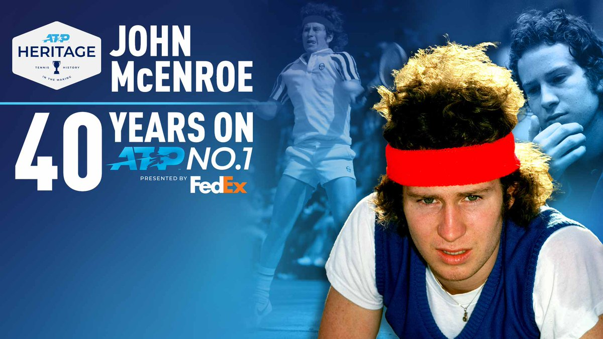 With exclusive insight, John McEnroe's rise from child prodigy to No. 1 - 40 years ago, today.  Read: