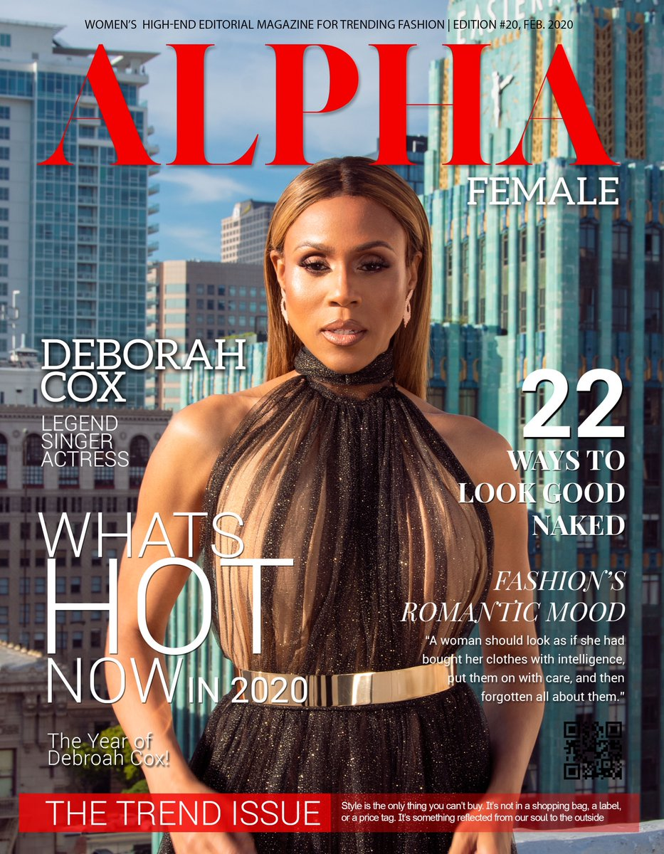 Alpha magazine is out NOW!!!!💥 https://t.co/mYqncHoZAG