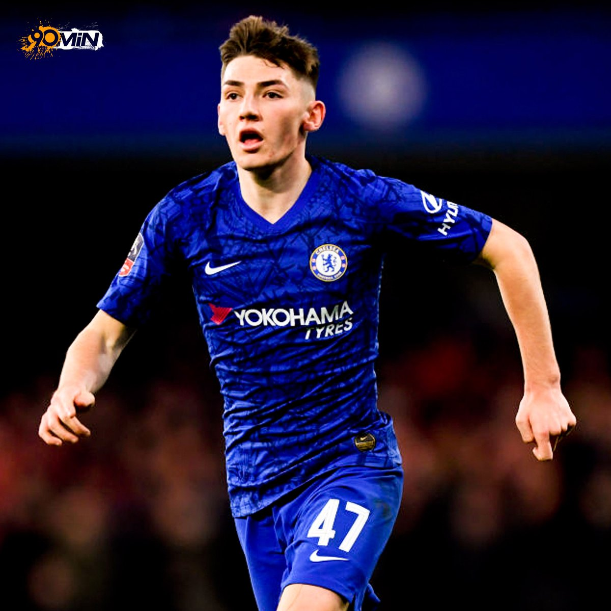 18 year- old Billy Gilmour was named man of the match after pulling all the strings against Liverpool this evening! 🔥 Remember the name! #CHELIV