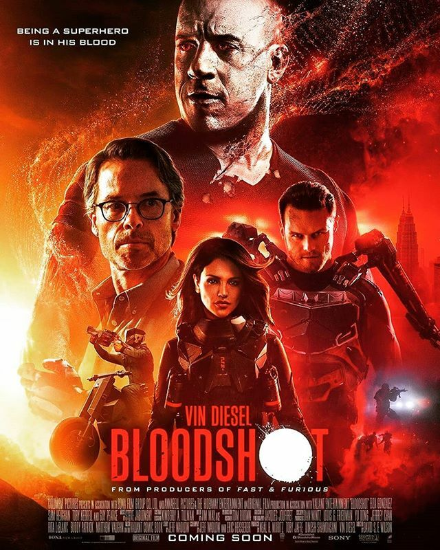 Who's excited to see Bloodshot next weekend?  #bloodshot #bloodshotmovie #valiant #valiantcomics #vcu #comics #comicbook #comicbooks #action #movie #movies #geek #geekgirl #like #love #follow #followus #share #moviesplash pic.twitter.com/m5vWaZ80hH
