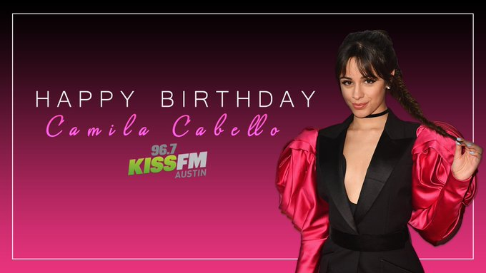 We\d Never Be The Same without Camila Cabello! Happy 23rd birthday :)