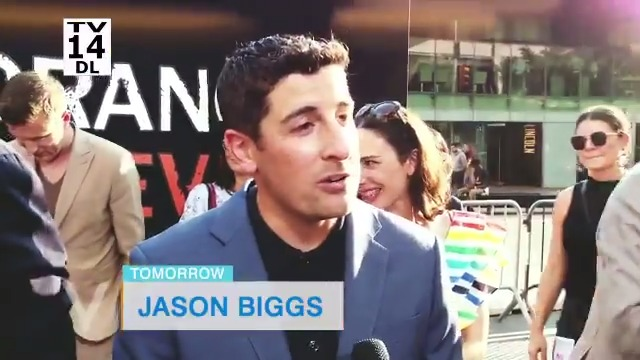 TOMORROW: We're catching up with the hilarious @JasonBiggs when he joins us LIVE at the table! 🙌