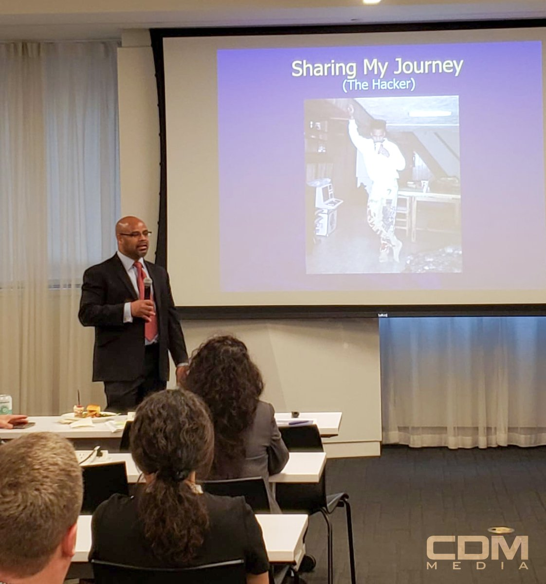 Big thanks to our lunchtime speaker Cedric Curry, CISO of NYC Citywide Administrative Services for his presentation on what comes next for cybersecurity.  #CISONY #CIONY #Cybersecurity #cybersecurityconference #cybersecuritysummit https://t.co/w3FLz8ZBLB