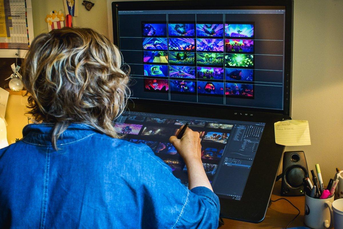 Dreamworks Animation V Twitter Visual Dev Artists Peter Zaslav Ruben Perez Create Concept Art Techno Keys 1 3 Prod Designer Kendal Cronkhite Shaindlin 2 Works On The Techno Trolls Particularly King Trollex