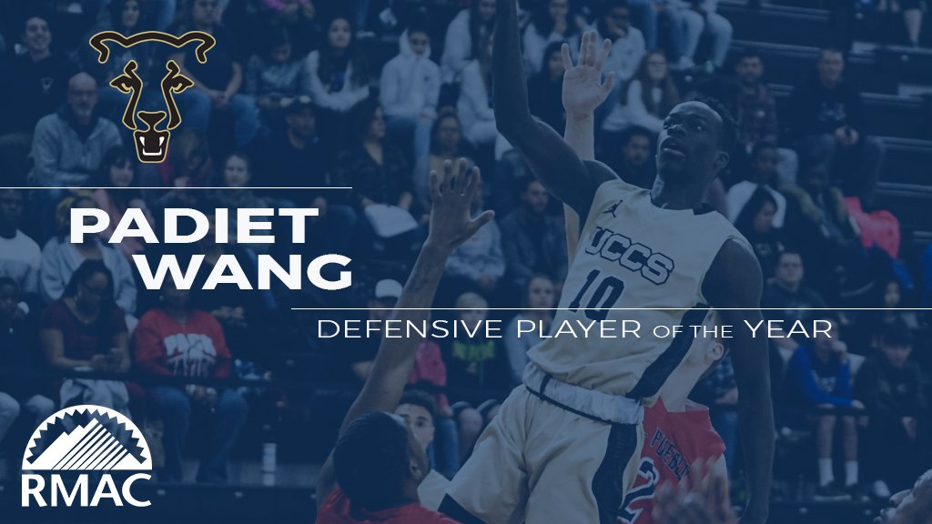 Padiet Wang of @GoMountainLions has been named #RMACmbb Defensive Player of the Year! He broke the program record for career steals and averaged 1.8 steals per game this year while bringing down 5.2 rebounds and swatted nearly a block a game. https://t.co/ZRM90uY7yP