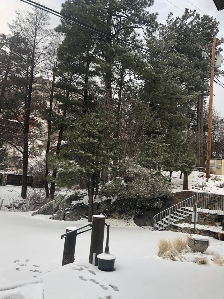 The view from Mt. Lemmon today. Thank you for sharing Teri Carpenter!