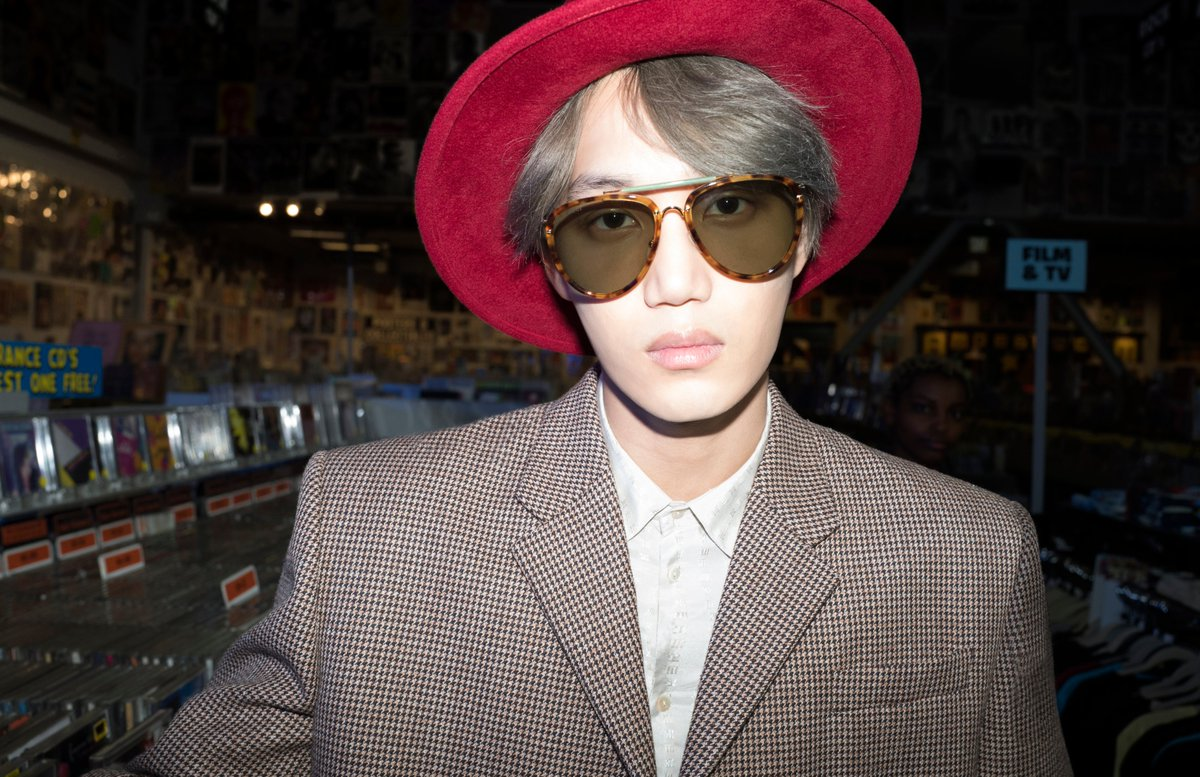 "EXO on Twitter: ""KAI in Gucci's SS20 Eyewear Campaign ? #KAI #카이 #EXO #엑소 #weareoneEXO #Gucci #구찌… """