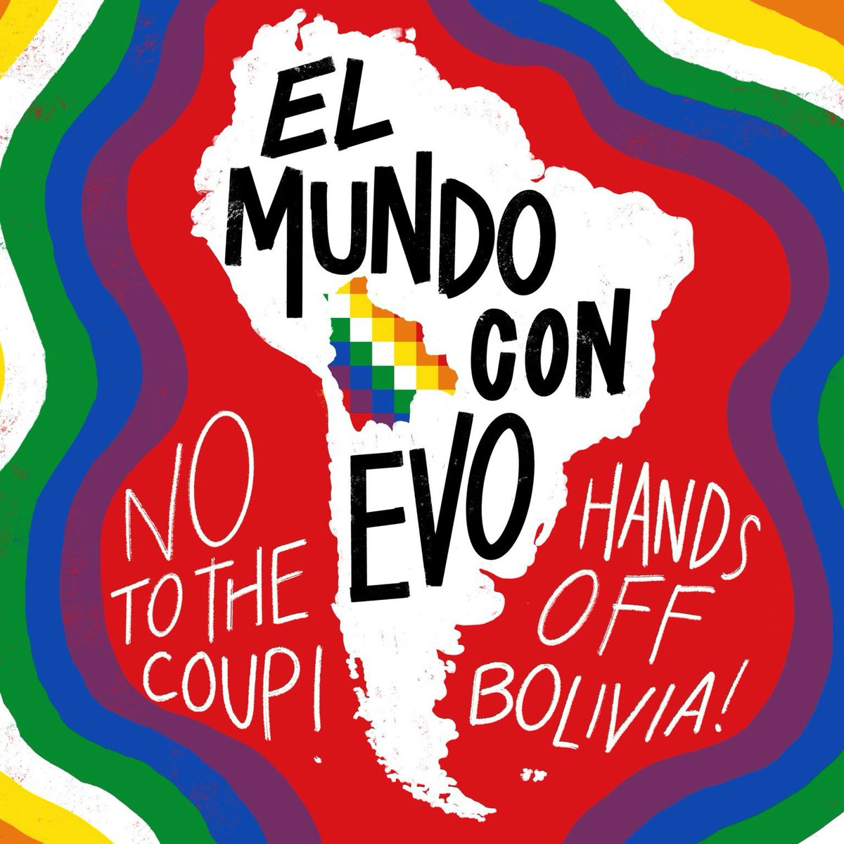 A new MIT study found that there was no fraud in Bolivia's elections last October, a claim that was used by the US & others to justify supporting the coup that removed President Evo Morales and put in place an unelected right-wing, anti-Indigenous government.  #ElMundoConEvo <br>http://pic.twitter.com/HwbvgCjYiz