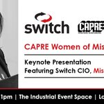 Image for the Tweet beginning: Switch CIO, Missy Young @MissyByte
