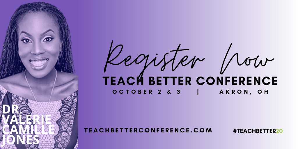 Thank you for making #TeachBetter19 an amazing SOLD OUT event!  Let's make 2020 even better!   The #TeachBetter20 brings together passionate educators from around the country who are driven to be Better for their students.
