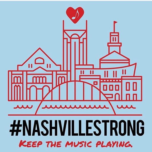 #NashvilleStrong #KeepTheMusicPlaying