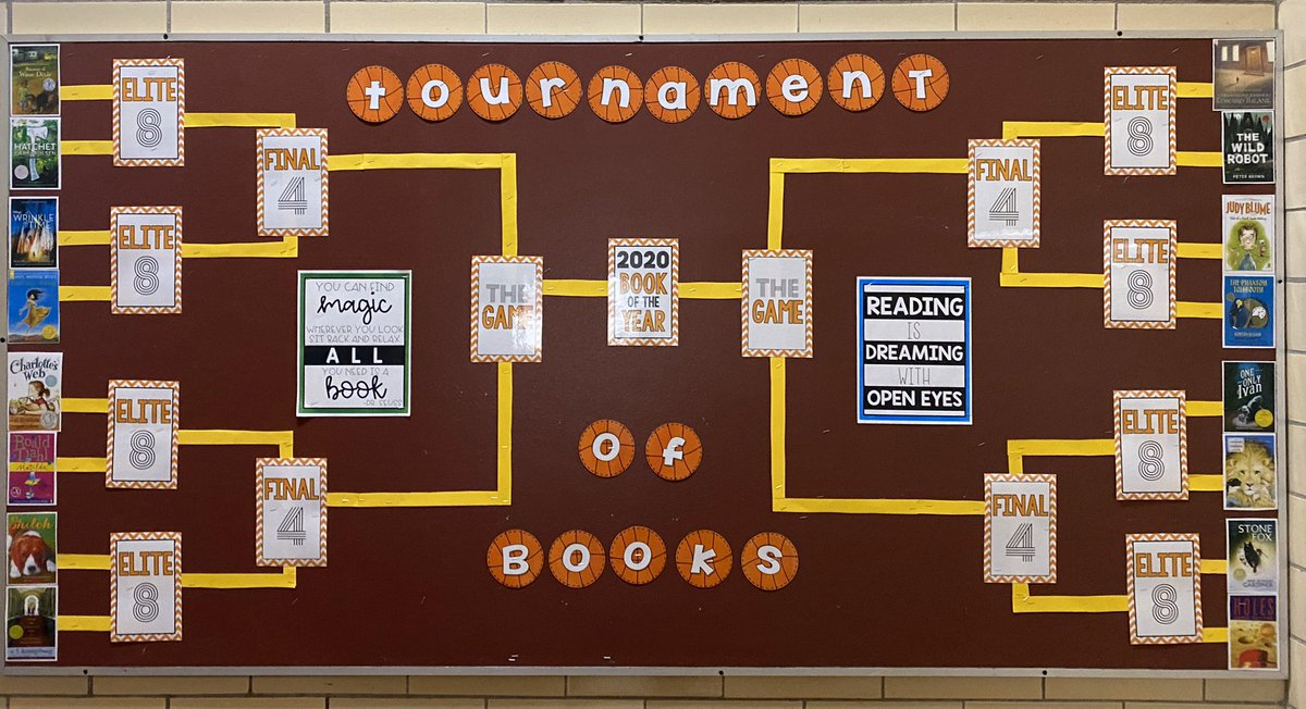 It's the most wonderful time of the year! March Madness Tournament of Books!