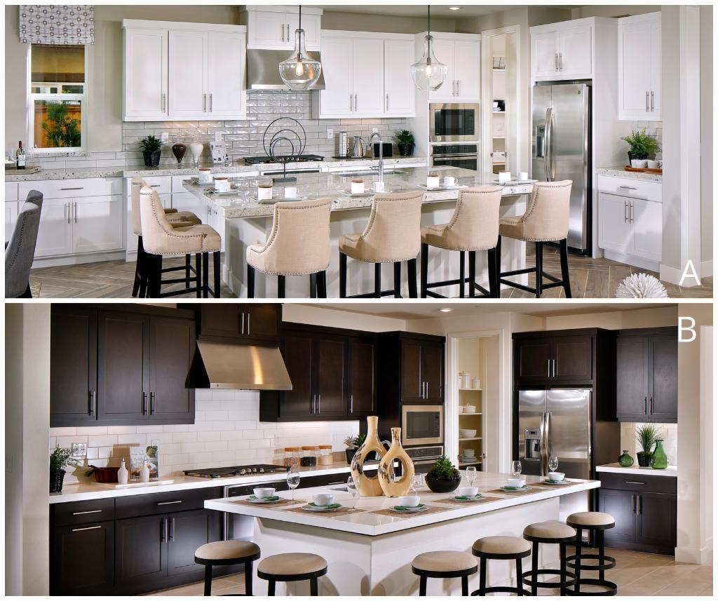Lennar Bay Area On Twitter Do You Prefer Light Or Dark Kitchen Cabinets Highlands At The Preserve
