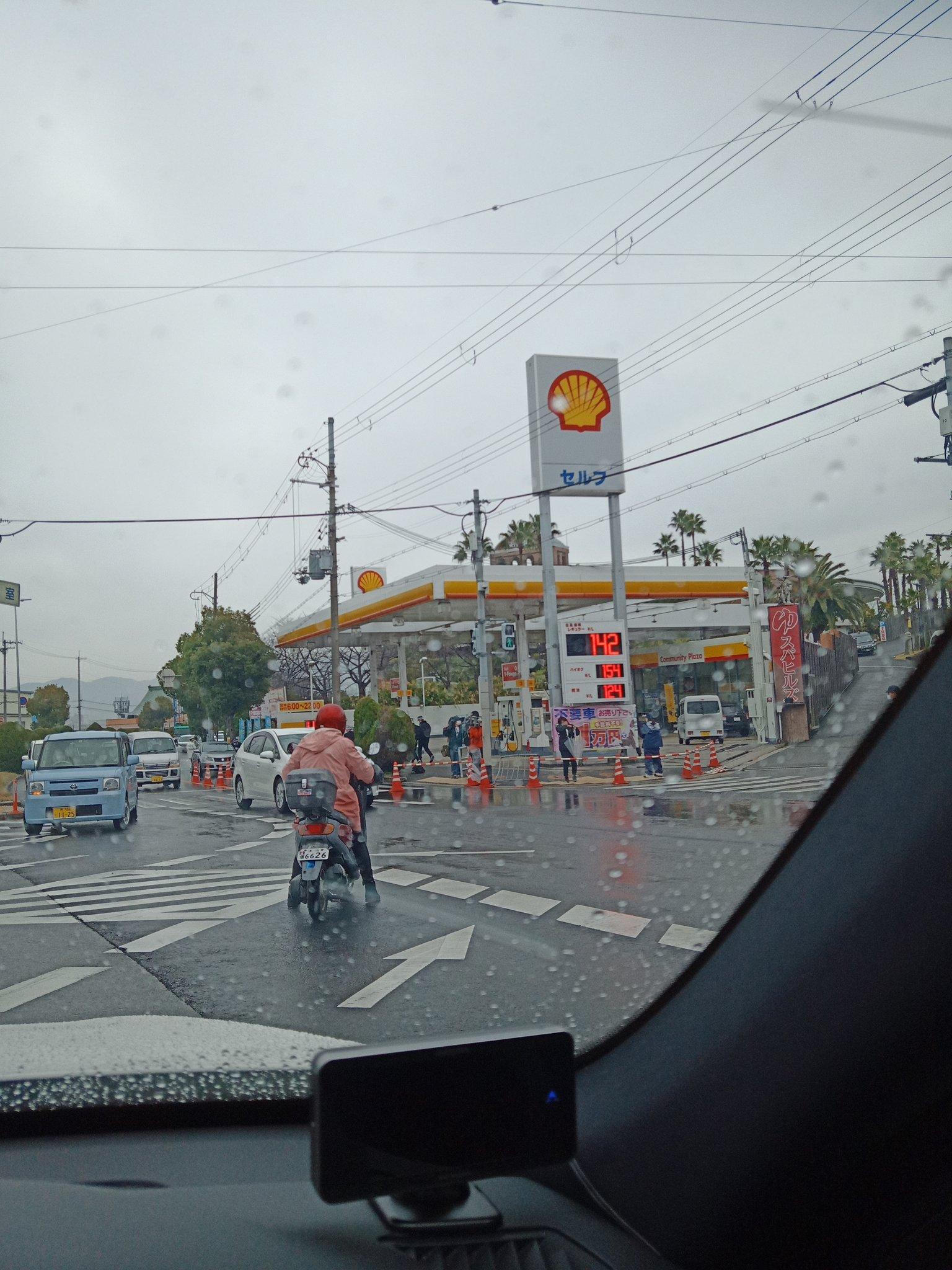 大阪狭山市で殺人未遂事件が起きた現場付近の画像