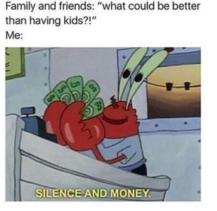 Lol! #moneymemes #memesaboutmoney #humor #sillymemes #crab #spongebob #eugenekrabs #money #silence #sparkonlineventurespic.twitter.com/WNWw3P14QC