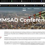 Image for the Tweet beginning: 25th EMMSAD Conference @CAiSEConf