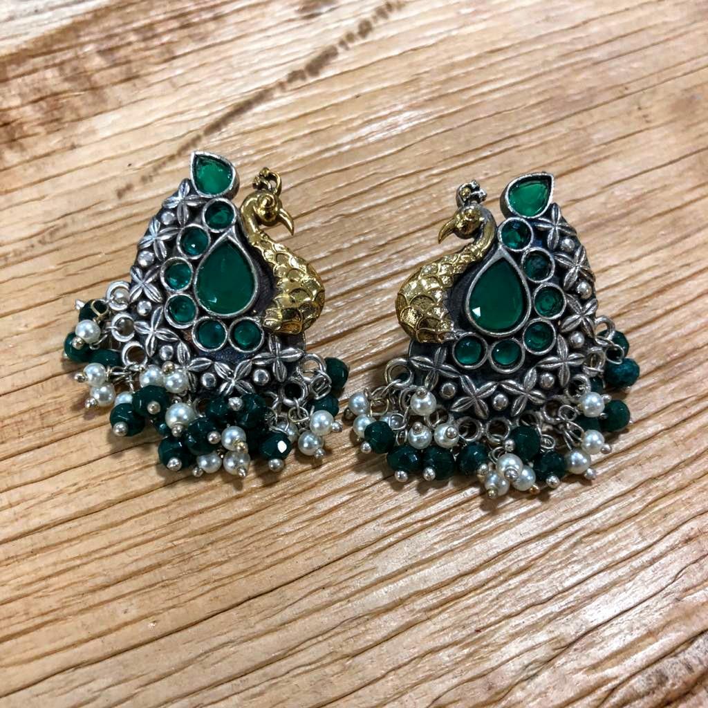 Traditional Oxidised Stud Earrings  #fashion #accessories #jewellery #jewelry #oxidised #oxidisedjewellery #oxidisedearrings #stone #beads #earrings #studs #studearrings #traditional #ethnic #ethnicwear #shopping #indianwear #ladieswear #womenswear #fashionjewelry #womensfashionpic.twitter.com/wVRo5a0E9z