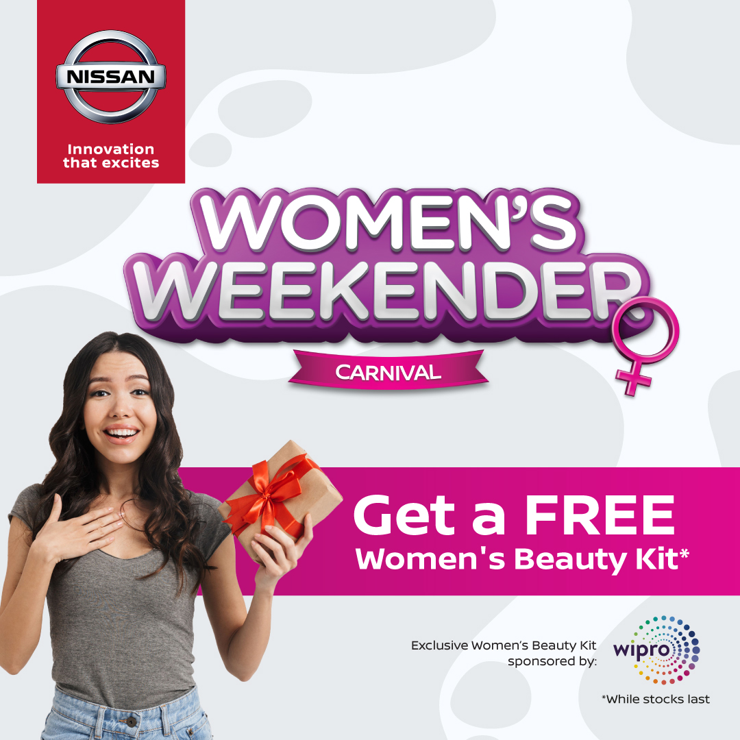 Get your FREE Women's Beauty Kit* only at our Nissan Women's Weekender Carnival happening this weekend (7 & 8 March) at selected Nissan showrooms! Also lined up for you are exciting activities and special offers you don't want to miss.  How to redeem: https://t.co/pLKr7EaOgz https://t.co/t1aiBtexBG
