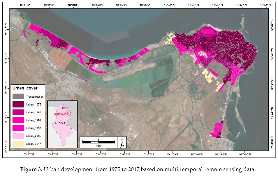 Check out the new article published on @MDPIOpenAccess #UrbanScience! Our researchers simulated #urbangrowth for #Monastir, Tunisia until 2030. #SLEUTH https://collections.unu.edu/view/UNU:7592 @Mostapha_Harb @MHagenlocher @hihim91pic.twitter.com/6Bb3kTnImq