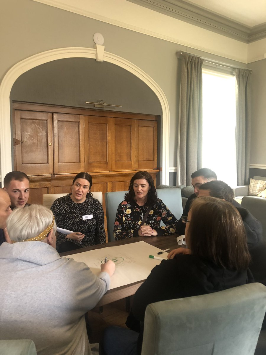 Spending the day with staff from @boltonathome @Seddons @TheAccordGroup @SalixHomes @BoltonCVS @BoltonCollege @MSVHousing who are volunteering to be team leaders for Foundation for the Future's next trips to Romania, Hungary & Slovenia