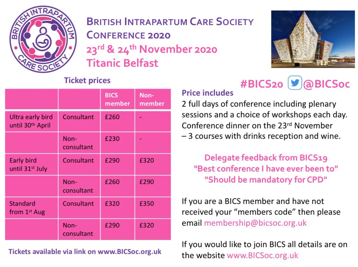 Come and visit the @BICSoc stand at the @TeamCMidO #teamCMidO summit today. Find out why you should join BICS and be the first to hear about the details for #BICS20 Tickets available at https://t.co/pvBQi7Sa1n @RCObsGyn @MidwivesRCM @BAPM_Official @OAAinfo @NatMatVoicesorg https://t.co/VlrTlQT8az