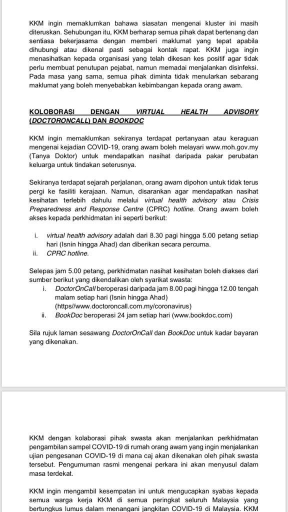 Melissa Goh On Twitter Just In Malaysia Reported A Second Wave Of Covid19 Infections 14 New Cases Added Today All From Contact Tracing Linked To Khazanah Senior Staff