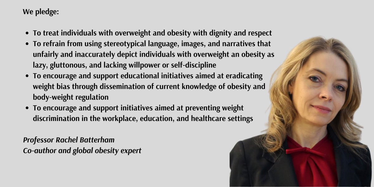 Prof Rachel Batterham On Twitter Worldobesityday Over 100 Medical Scientific Organisations Globally Pledge Support For Statement Recognising Public Narratives Of Obesity As Major Cause Of Weightstigma Need For Govt Action