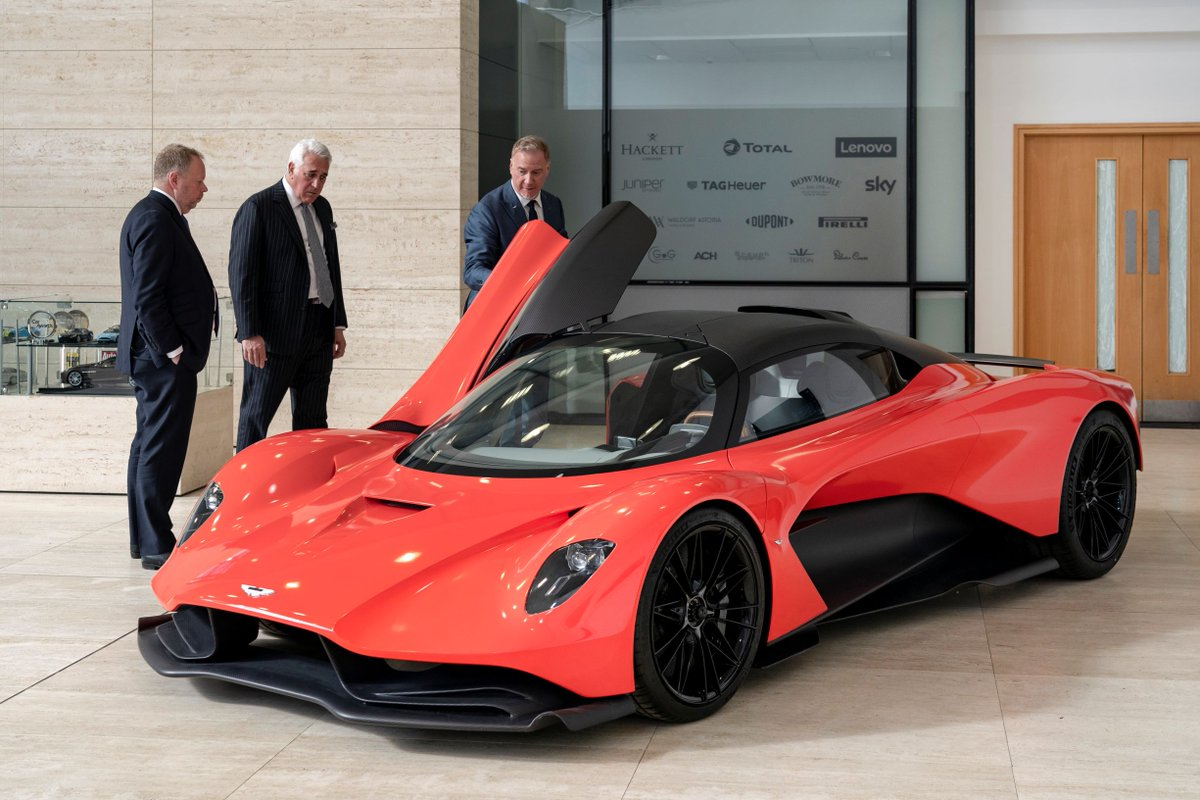 Aston Martin On Twitter The Ultimate Expression Of Hypercar Design Lawrence Stroll Andyataston And Design Dr Inspect Valhalla The Third Car In Our Mid Engine Hypercar Range Astonmartin Valhalla Astonmartinmotorshow Https T Co Lf28ll47vi