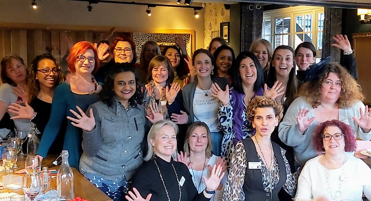 We were a bit early, only a matter of days but we celebrated International Women's Day in Athena South East Herts & Enfield style. #IWD2020  #BusinessNetworking #WomeninBusiness https://t.co/ot4HWp2w3C