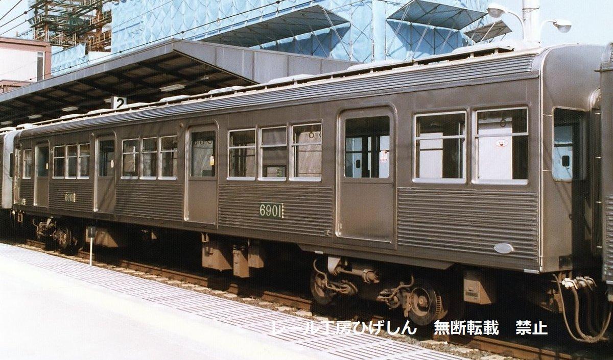 """レール工房ひげしん on Twitter: """"南海6000系の異端児であった6009F ..."""