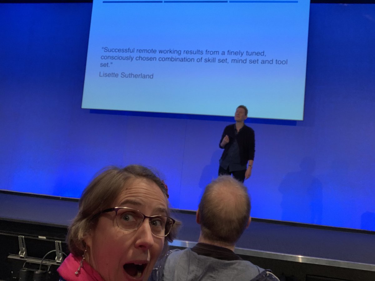 I got quoted in a talk #firsttimeforeverything - thanks @judyrees - you are fabulous! #QConLondon