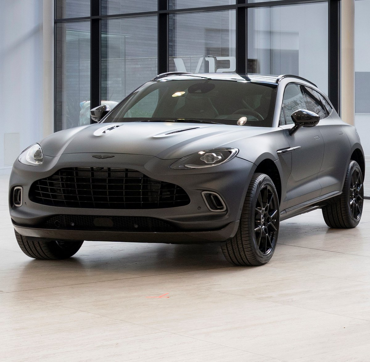 Aston Martin On Twitter Launched In February Dbx Has Been Treated To A Touch Of Personalisation Magic Through Our Bespoke Service Q By Aston Martin To Tease Our First Suv S Darker Side
