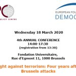 Image for the Tweet beginning: #SAVETHEDATE Il #18marzo a #Bruxelles