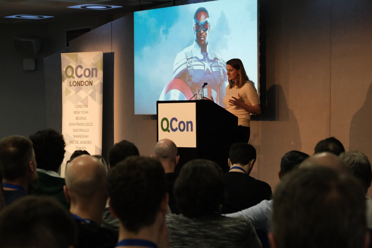 .@LauraMDMaguire uncovered the hidden costs of coordination and showed how resilient performance is directly tied to coordination. #QConLondon